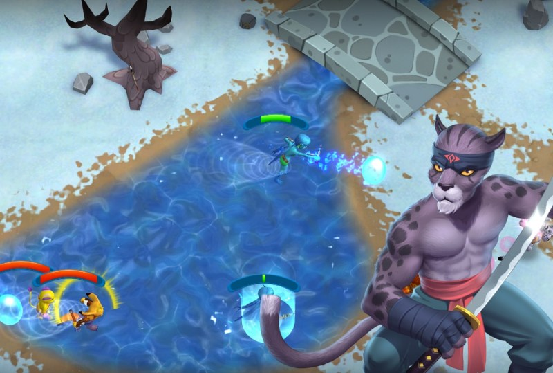 Unnyhog's real-time strategy game, UnnyWorld.