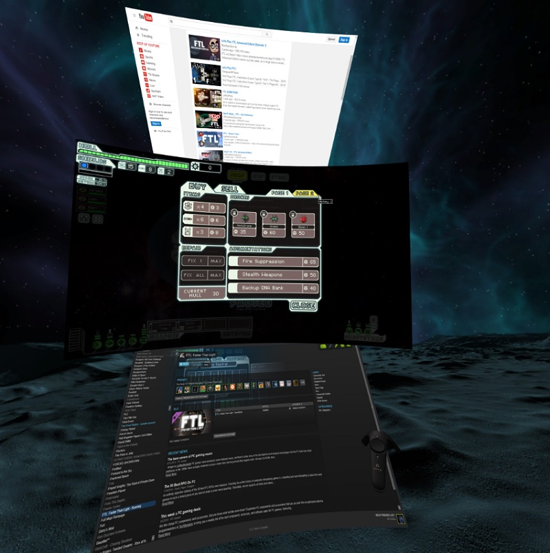 LightVR lets you be productive in VR.