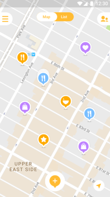 Mapstr: Android