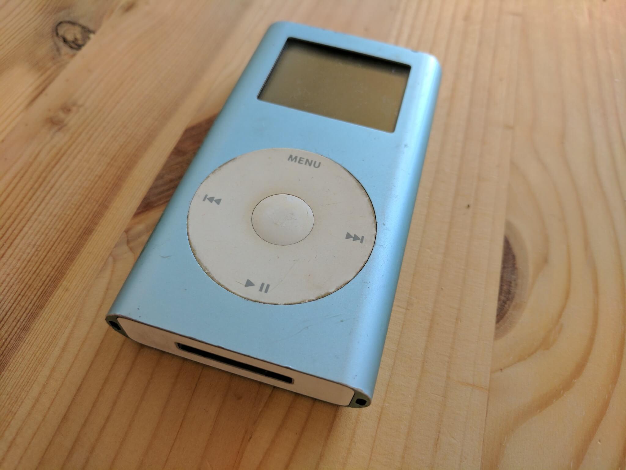 My iPod mini from 2004.