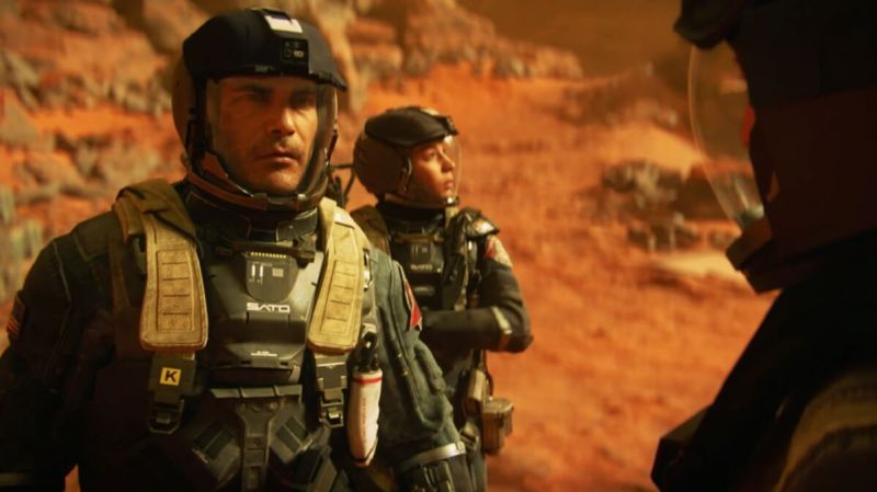 Nick Reyes has to make the tough decisions as a commander in Call of Duty: Infinite Warfare.
