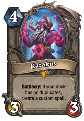 This card can go in Mage, Priest, and Warlock decks.