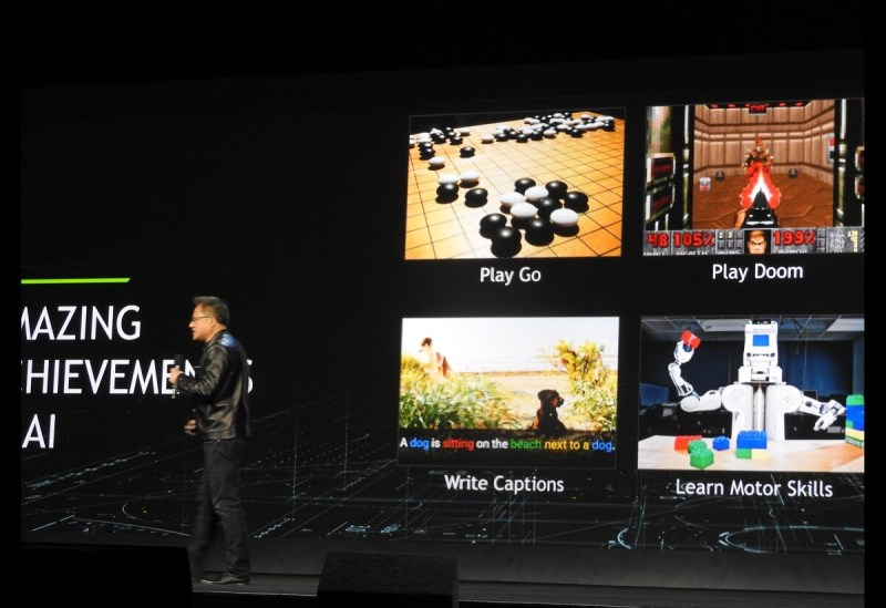 Nvidia CEO Jen-Hsun Huang at CES 2017.
