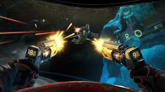 Space Junkies is a new sci-fi VR game from Ubisoft.