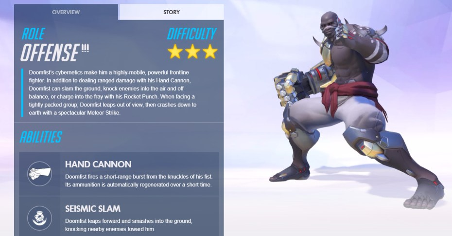 Overwatchs Doomfist Is Now Live GamesBeat Games By