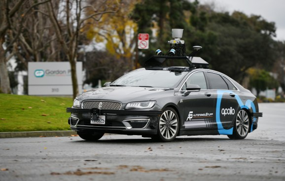 apollocar Baidu and China Mobile partner on AI and 5G, focusing on self-driving cars