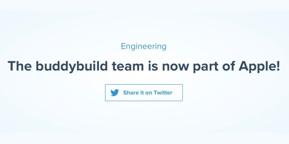 Apple buys app improvement service Buddybuild, crew will be a part of Xcode and drop Android assist
