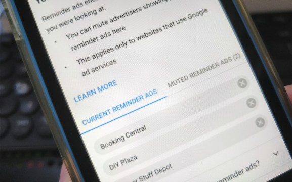 Google now lets you mute pushy 'reminder ads' when ...