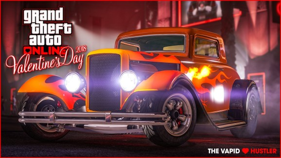 Grand Theft Auto Online celebrates Valentine's Day with a sizzling journey