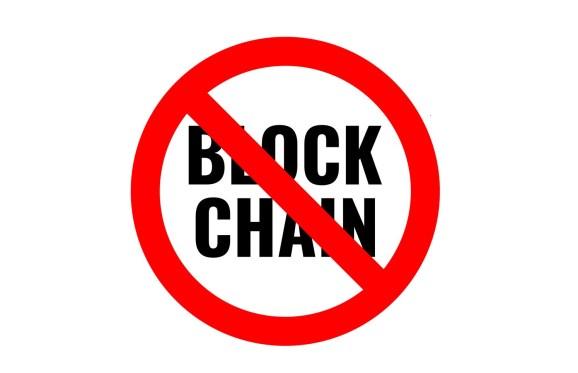 no-blockchain The rocky road to blockchain: Why most CIOs are still ignoring it
