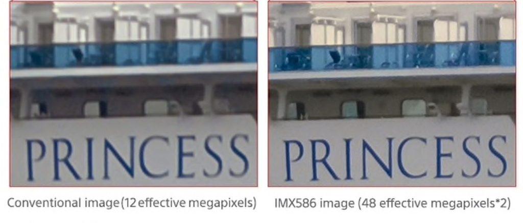L'IMX586 de Sony capture des images beaucoup plus grandes et plus détaillées que les caméras de smartphone de la génération précédente.