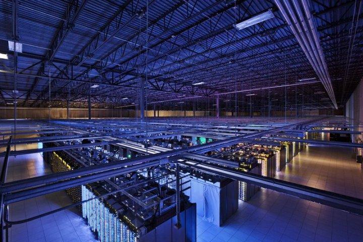Google data center