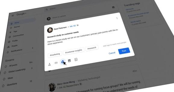 Google Plus in G Suite