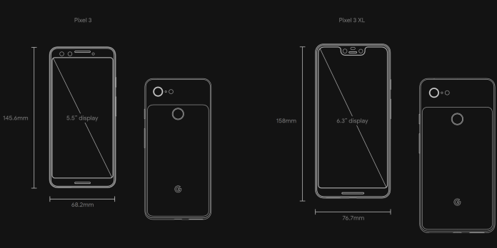 Pixel 3 And Pixel 3 Xl Specs What Google Changed Venturebeat