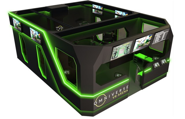 Virtuix and Funovation are targeting VR arcades.
