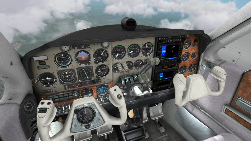 FlyInside muestra el vuelo VR Sims como volar