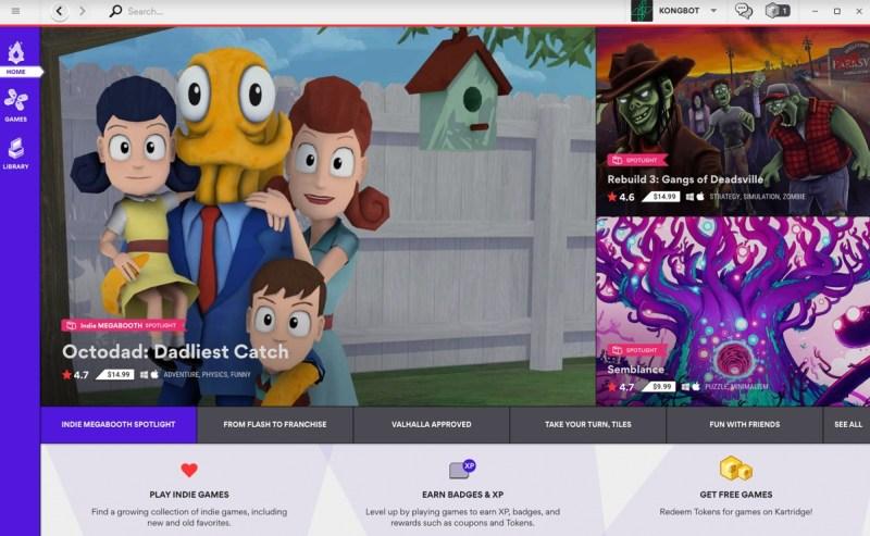 Kartridge e Indie Megabooth destacan los juegos indie en la tienda alternativa de juegos de PC