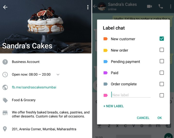 WhatsApp Business brings quick replies, labels, and chat list filtering to desktop and the web | VentureBeat