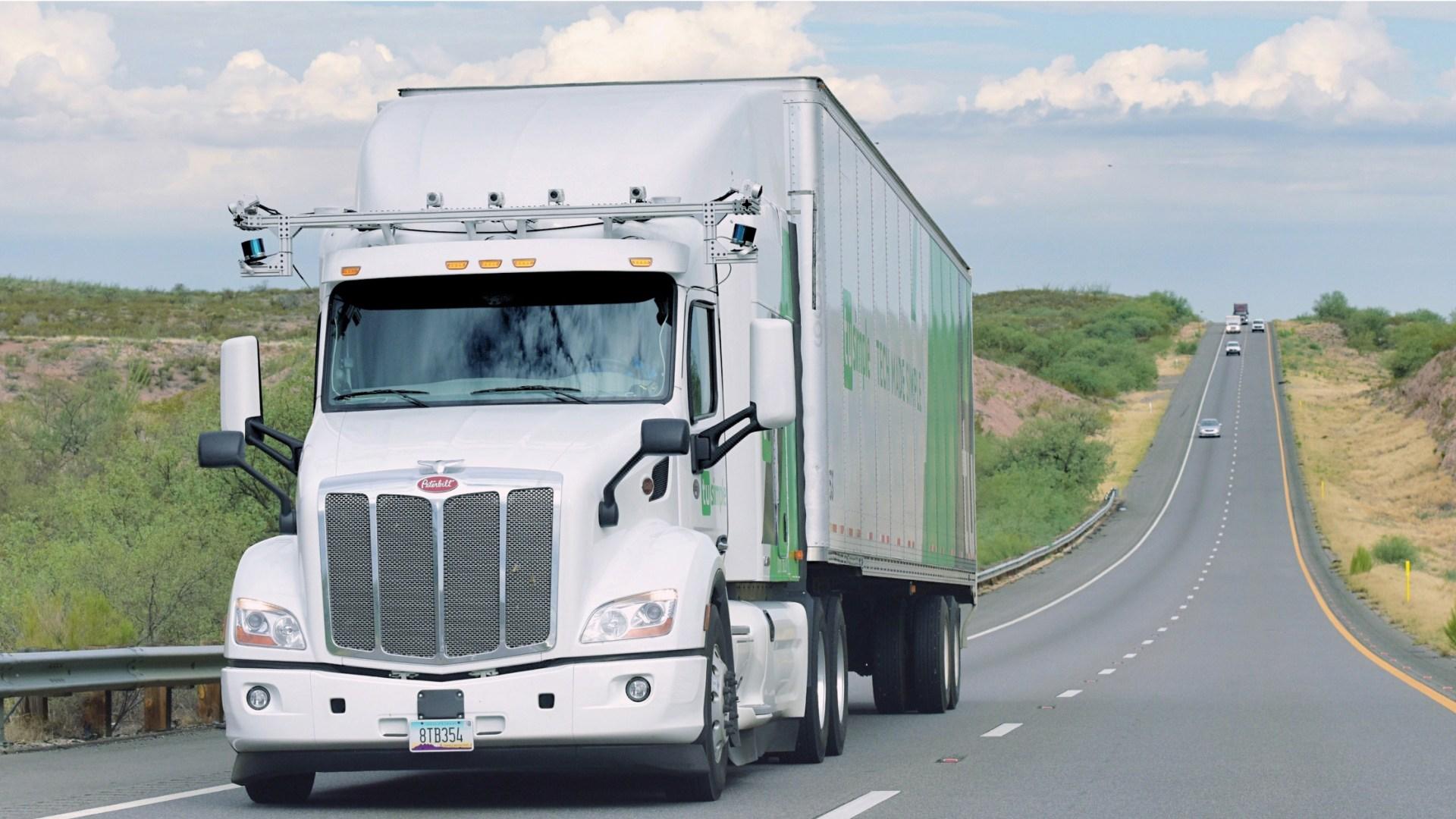 Driverless truck startup TuSimple raises $95 million at $1 billion valuation