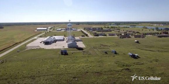 U.S. Cellular demonstrates smart farming via its rural-focused wireless network.