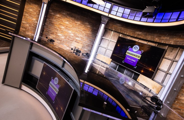 EA invested millions in its competitive gaming broadcast studio.