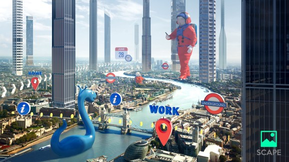 The Augmented City, by Scape Technologies