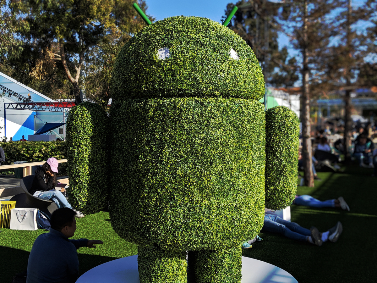 Android at Google I/O developer conference in Mountain View, California