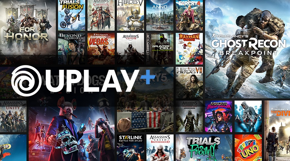 Uplay+ is Ubisoft's game subscription service.