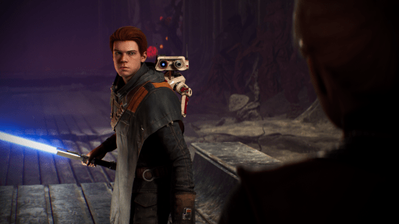 Cal and his droid buddy BD