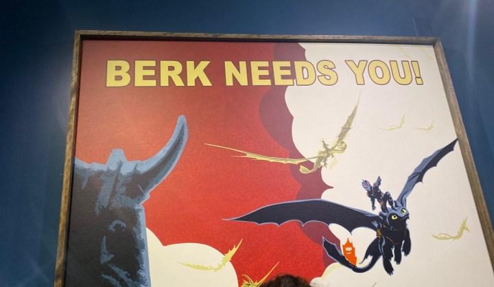 Dreamscape takes you to Berk.