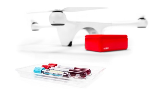 Matternet is delivering medical shipments via drones.