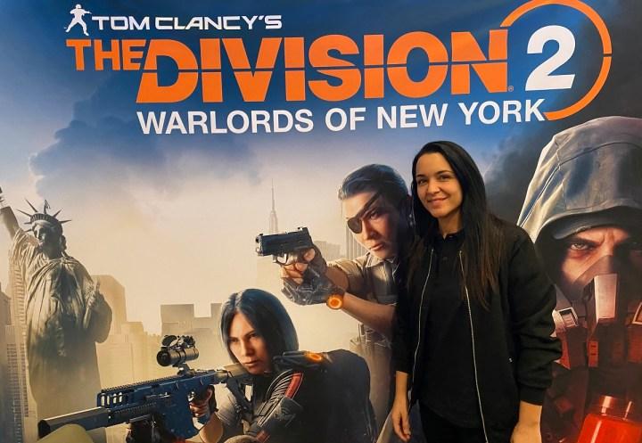 Cloe Hammoud, world content manager at Ubisoft's Massive Entertainment.