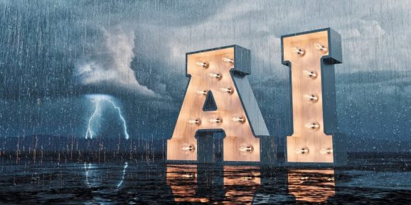 Artificial Intelligence concepts: AI in lights