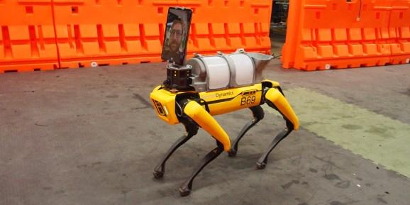 Boston Dynamics' Spot robot deployed for telemedicine