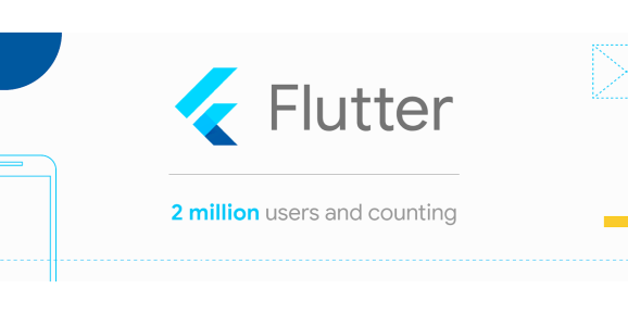 2 million developers have used Flutter to date