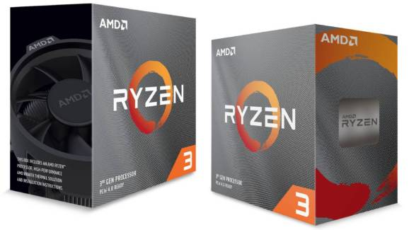 Ryzen 3 chips from AMD.