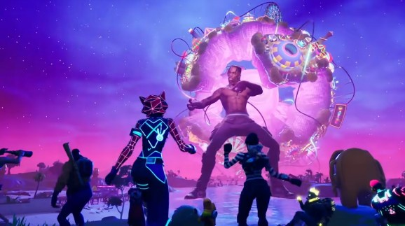 Travis Scott's concert in Fortnite drew 27.7 million viewers.