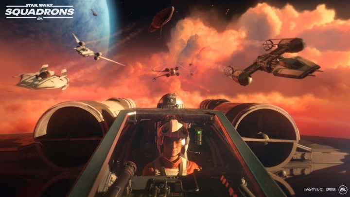 Star Wars: Squadrons is here.