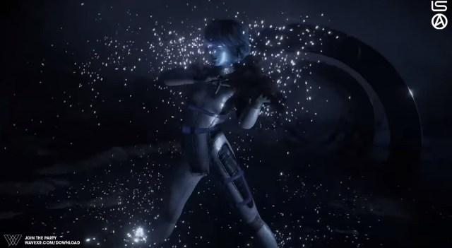 Lindsey Stirling performs Artemis in Wave.