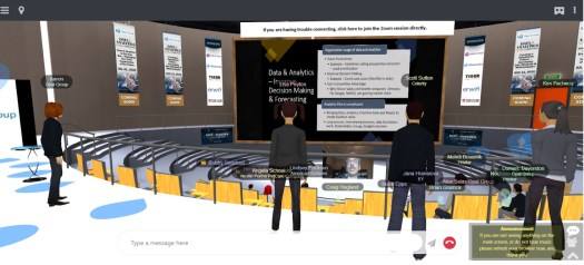 Why to choose 3D for your next virtual event 2