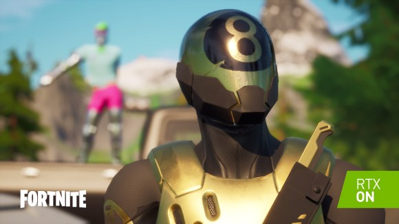 Fortnite is getting updated to take advantage of Nvidia's latest graphics cards.