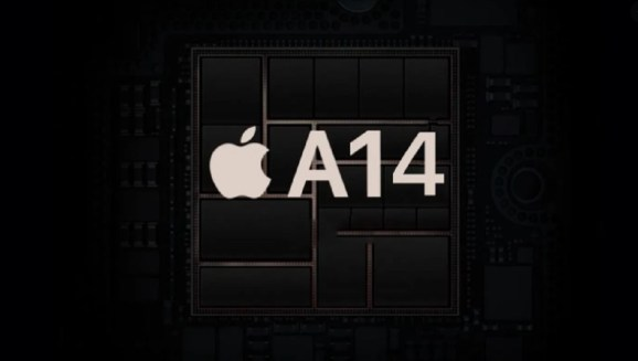 Apple's A14 Bionic processor.