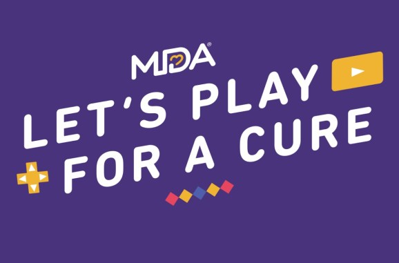 The Muscular Dystrophy Association is launching Let's Play For a Cure to raise money from gamers.