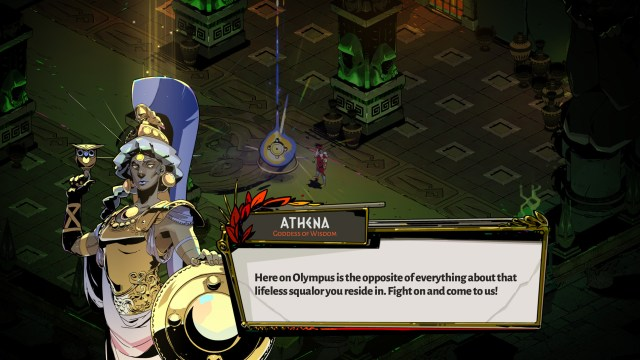 Motivational speaker Athena.