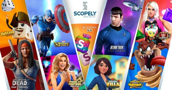 Scopely has a broad slate of mobile games.