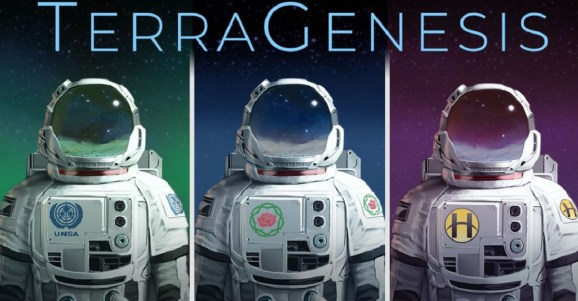 TerraGenesis is a game about terraforming planets.