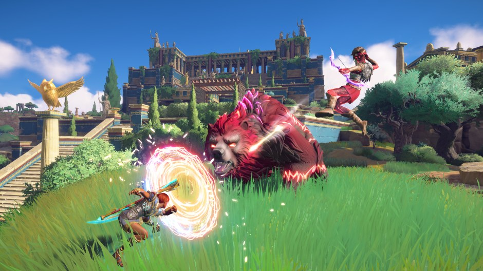 Immortals: Fenyx Rising review -- A link to the vase | VentureBeat