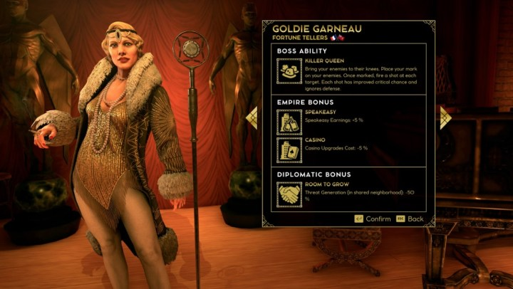 Goldie Garneau is one of the mob bosses in Empire of Sin.
