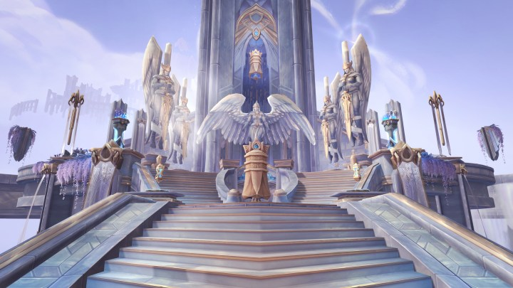The Kyrian covenant sanctum in Bastion.