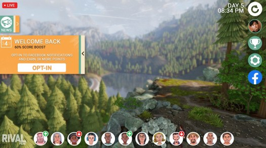 Rival Peak aims to be a massive game-like reality show with AI characters 2